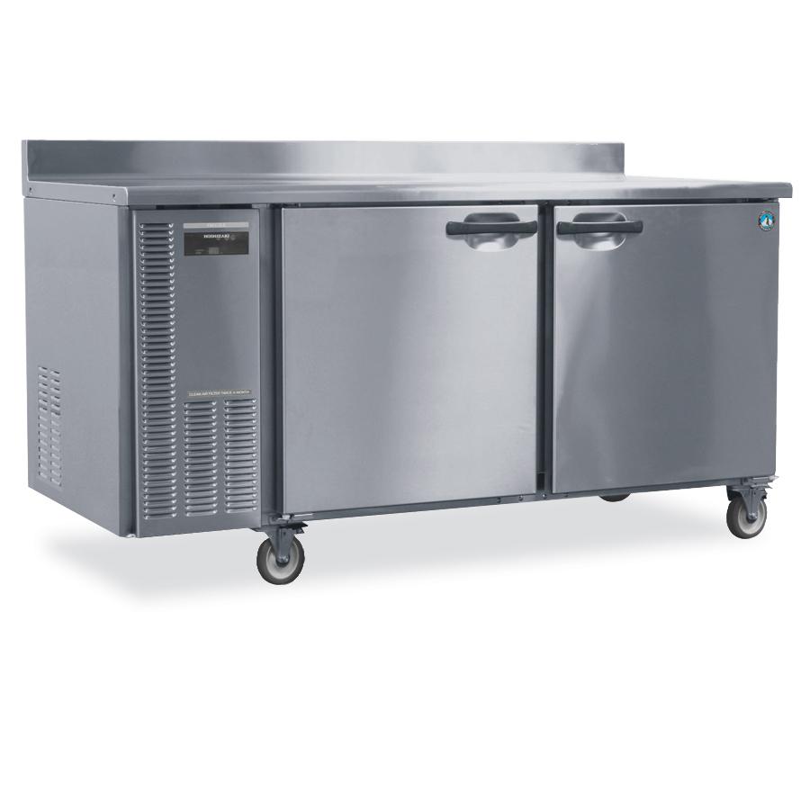 Hoshizaki HWF68A Worktop Freezer w/ 2-Solid Doors, Stainless, 18.8-cu ft