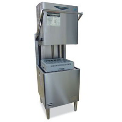 Hoshizaki JWE-620UA-6B Hi-Temp Door-Type Warewasher w/ 62-Racks/hr Capacity, Stainless