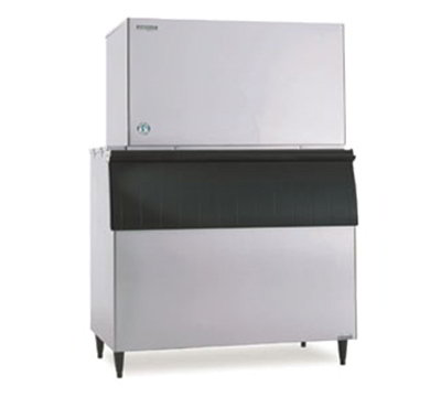 Hoshizaki KM-1400SWH-M Crescent Style Ice Maker w/ 1370-lb/24-hr Capacity, Water Cool, Stainless