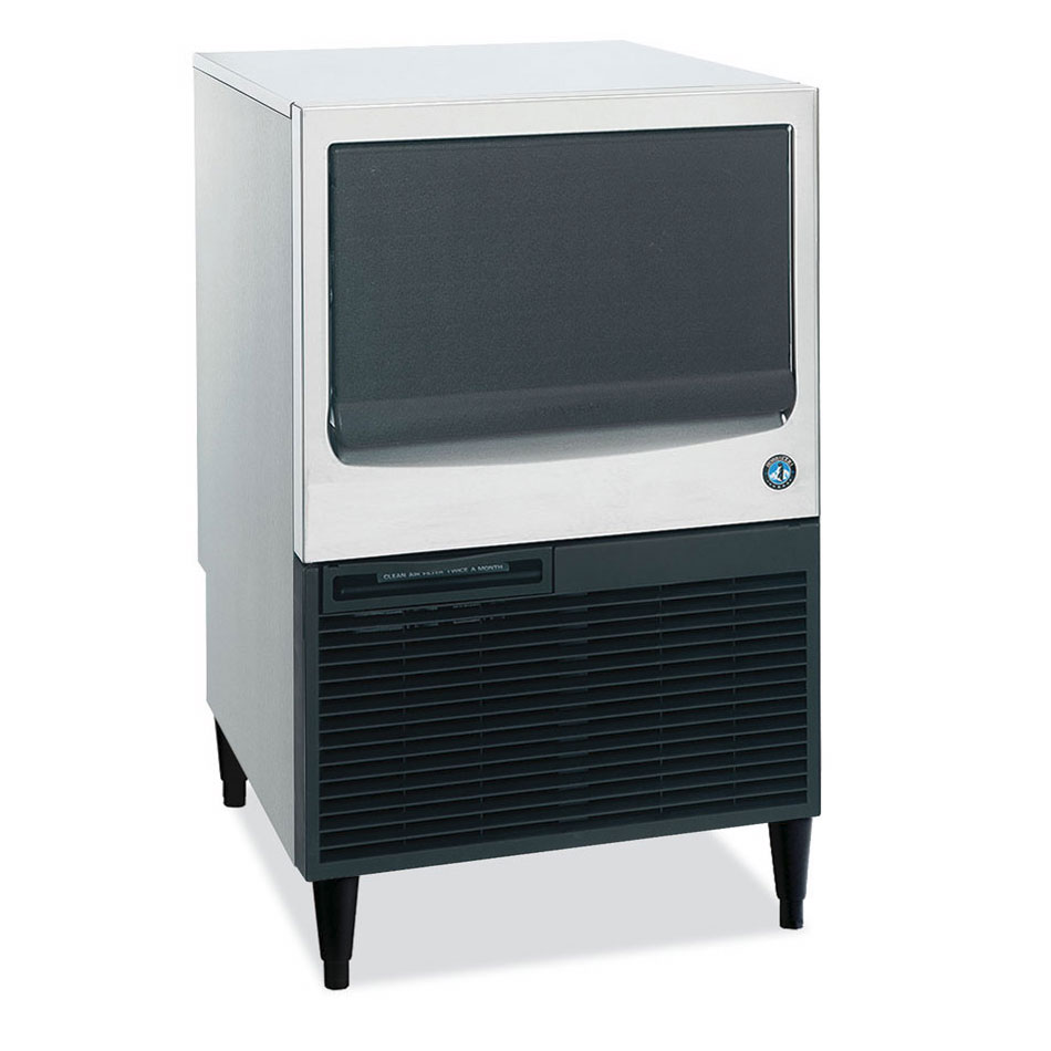 Hoshizaki KM-151BAH Crescent-Style Ice Maker w/ 146-lb Production & Bin, Air-Cool, Stainless