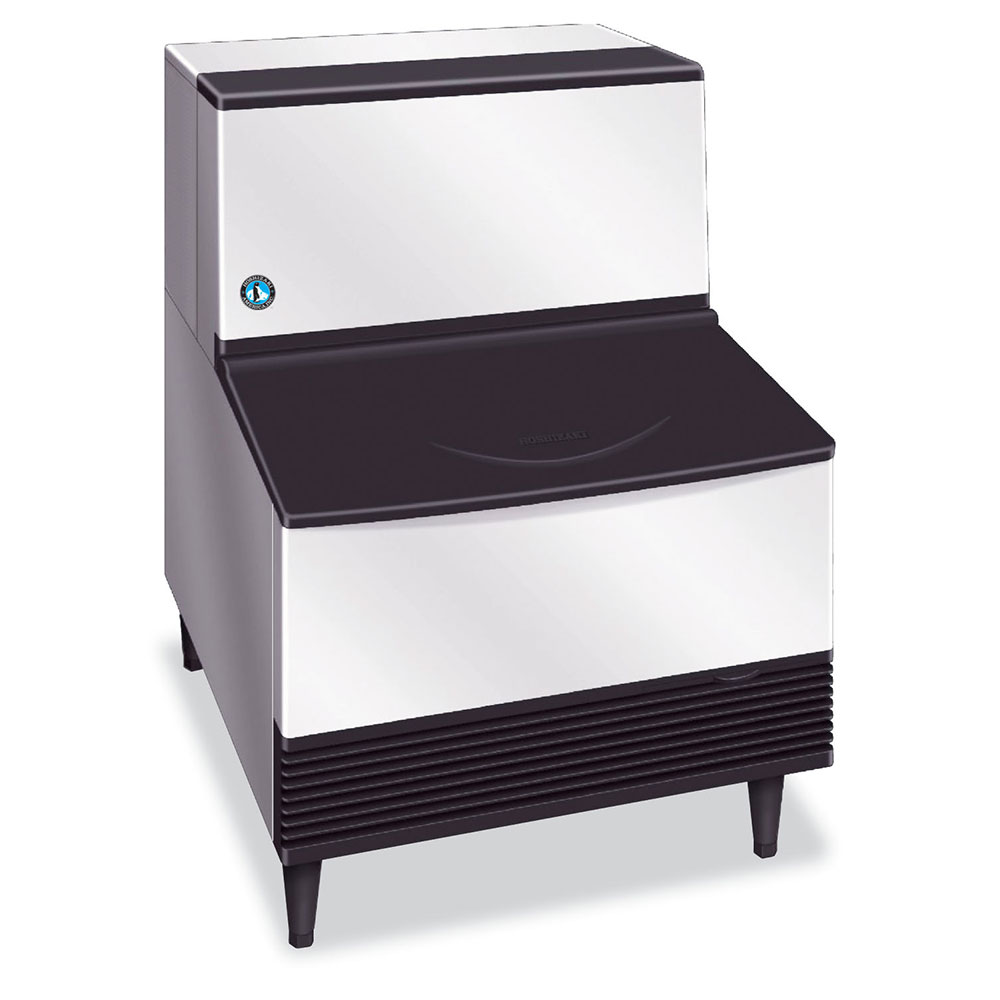 Hoshizaki KM-201BWH Crescent-Style Ice Maker w/ 215-lb Production & Bin, Water-Cool, Stainless