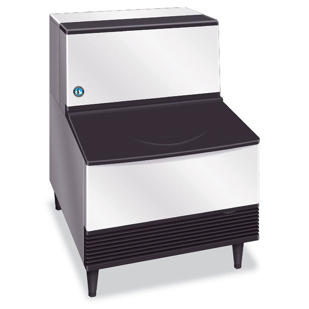 Hoshizaki KM-260BAH Crescent-Style Ice Maker w/ 263-lb Production & Bin, Air-Cool, Stainless