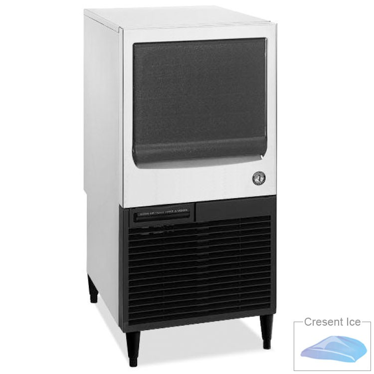 Hoshizaki KM-61BAH Crescent-Style Ice Maker w/ 71-lb Production & Bin, Air-Cool, Stainless