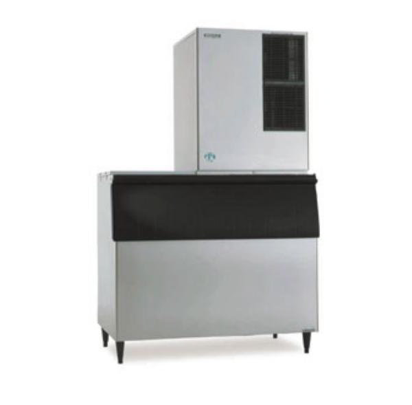 Hoshizaki KM-901MAH B700PF Medium Volume Cube Ice Maker w/ 550-lb Bin - Air Cooled, 208v/1ph