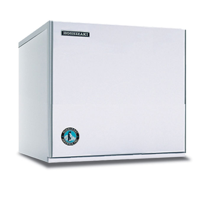 "Hoshizaki KMS-822MLH 22"" Crescent Cube Ice Machine Head - 839-lb/24-hr, Air Cooled, 115v"