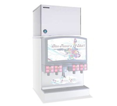 "Hoshizaki KMD-450MAH 30"" Crescent Cube Ice Machine Head - 457lb/24-hr, Air Cooled, 115v"