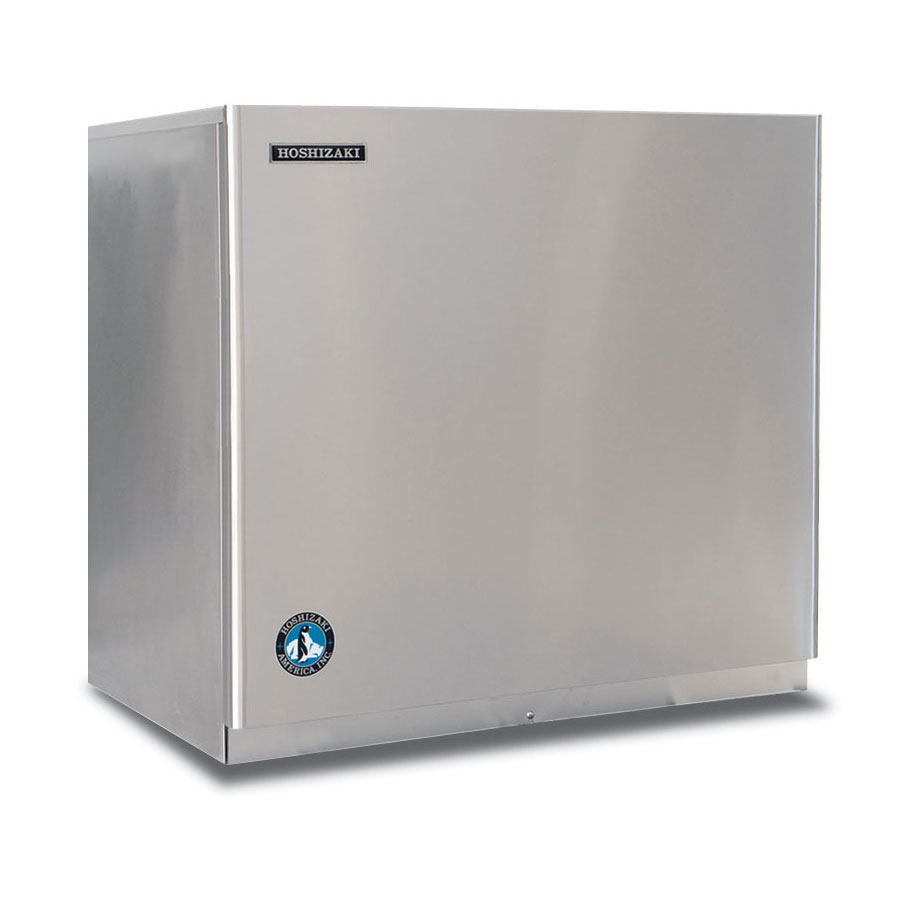 Hoshizaki KMS-830MLH Crescent Style Ice Maker w/ 820-lb/24-hr Capacity, Air Cool, Remote, Stainless