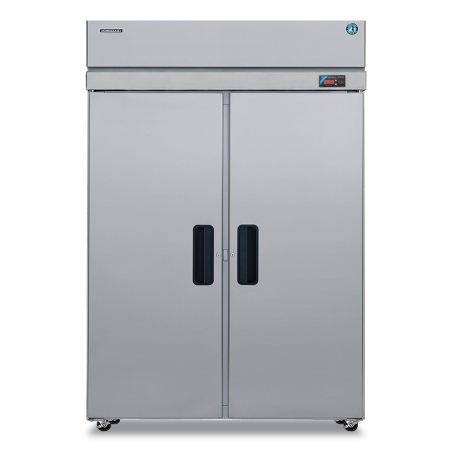 Hoshizaki PTR2SSE-FSFS Pass-Thru Refrigerator w/ 2-Front & 2-Back Solid Full Doors, Stainless
