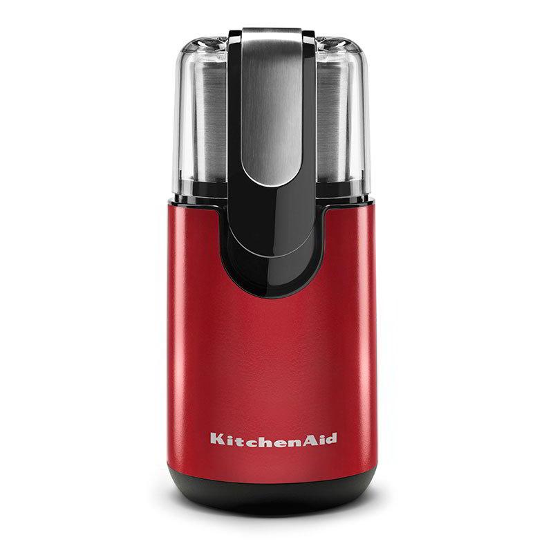 KitchenAid BCG111ER Blade Coffee Grinder w/ Fingertip Control Empire Red