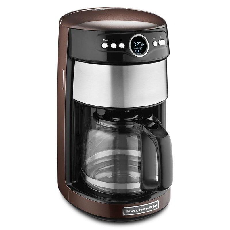 KitchenAid KCM1402ES Coffee Maker w/ Digital Display & Control, 14-Cup, Espresso