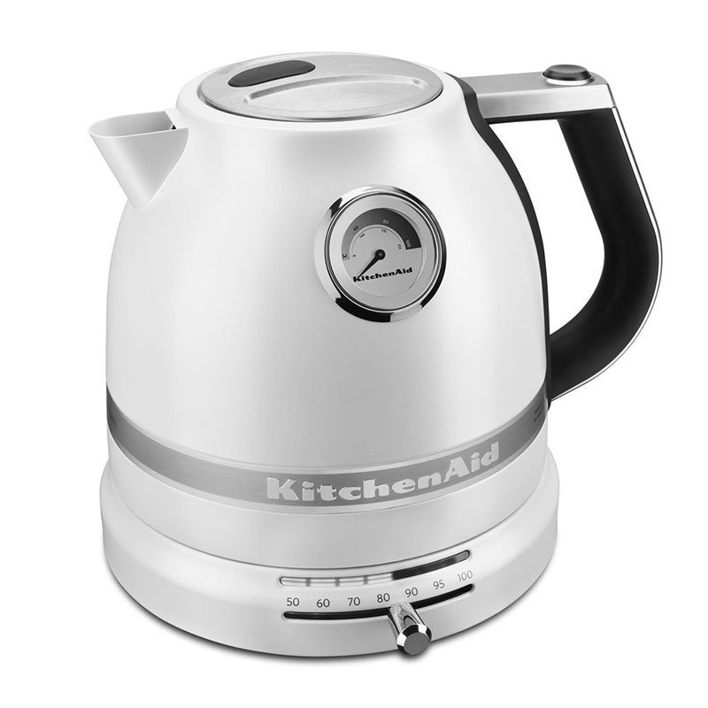 KitchenAid KEK1522FP Pro Line Electric Kettle - 1.5-Liter, Temperature Control, Frosted Pearl
