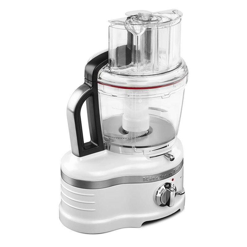 KitchenAid KFP1642FP Pro Line 16-Cup Food Processor - Frosted Pearl