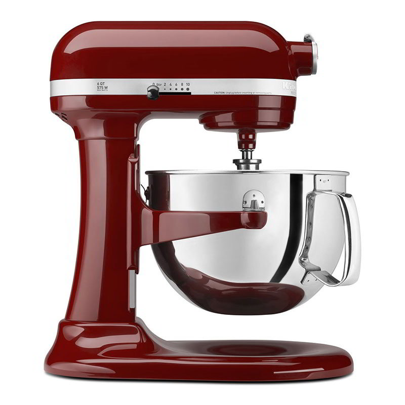 KitchenAid KP26M1XGC Professional 600 Series Mixer With Pouring Shield, 6 Qt, Gloss Cinnamon