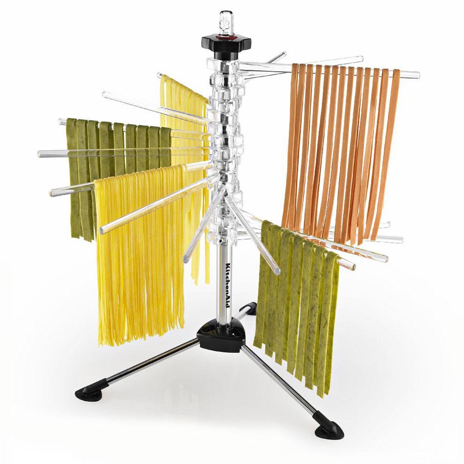 KitchenAid KPDR Pasta Drying Rack - 4-lb Capacity, 16-Rods