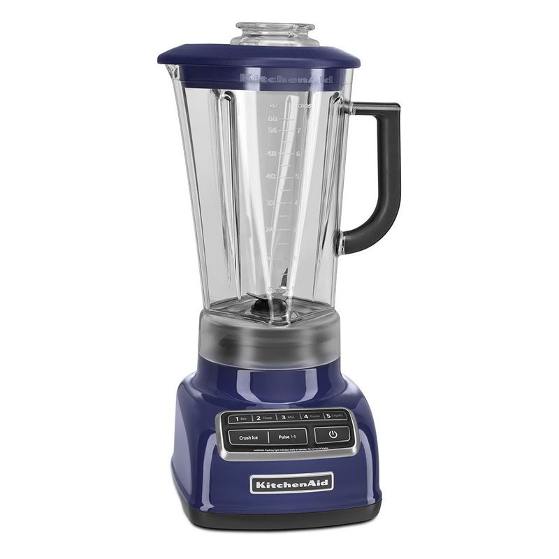 KitchenAid KSB1575BU 5-Speed Blender w/ 60-oz Pitcher &a