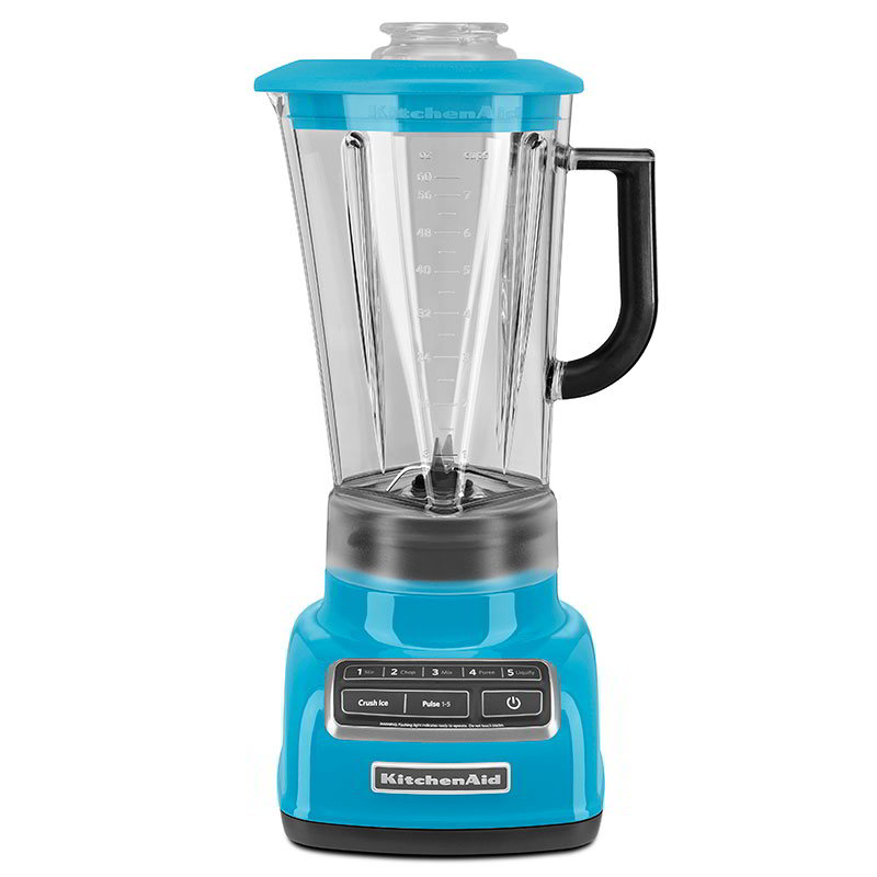 KitchenAid KSB1575CL 5-Speed Blender w/ 60-oz Pitcher &