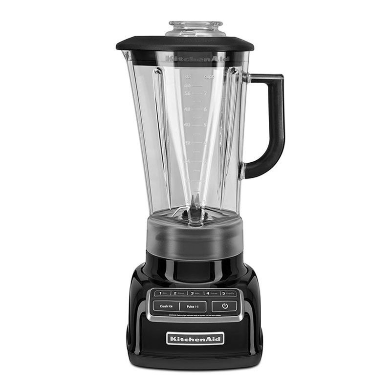 KitchenAid KSB1575OB 5-Speed Blender w/ 60-oz Pitcher & Reinforced