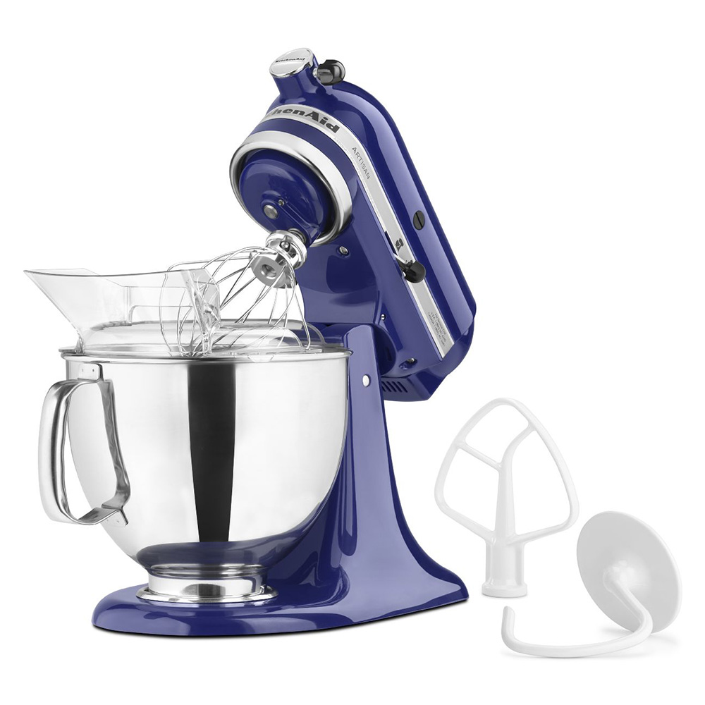KitchenAid KSM150PSBU 5-qt Artisan Series Mixer w/ Attachments