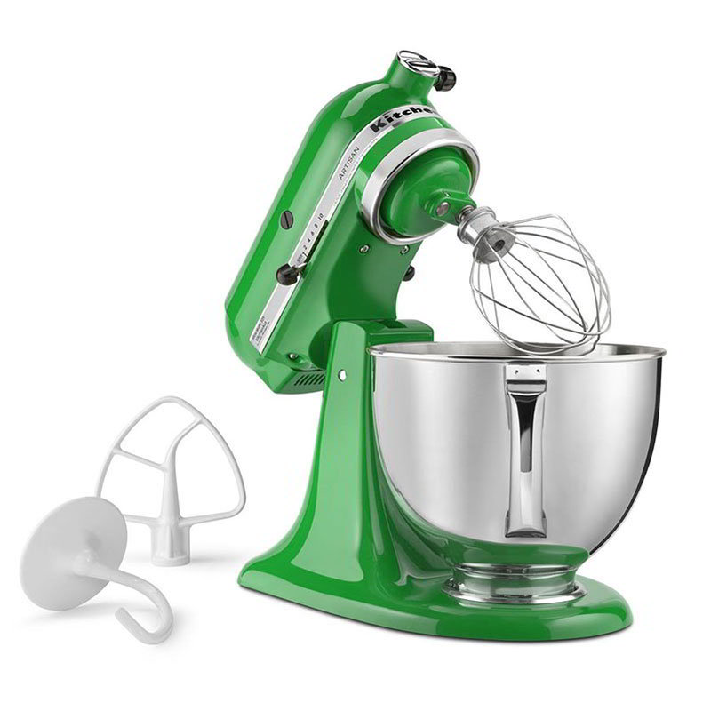KitchenAid KSM150PSCG Artisan Series Stand Mixer w/ 5-qt Bowl, Canopy Green
