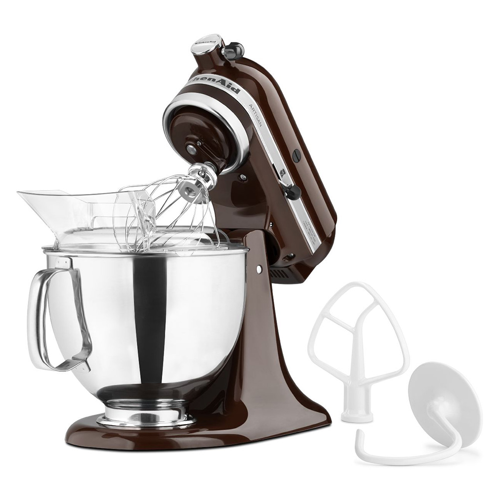KitchenAid KSM150PSES Tilt-Head Stand Mixer w/ 5-qt Stainless Bowl, Espresso