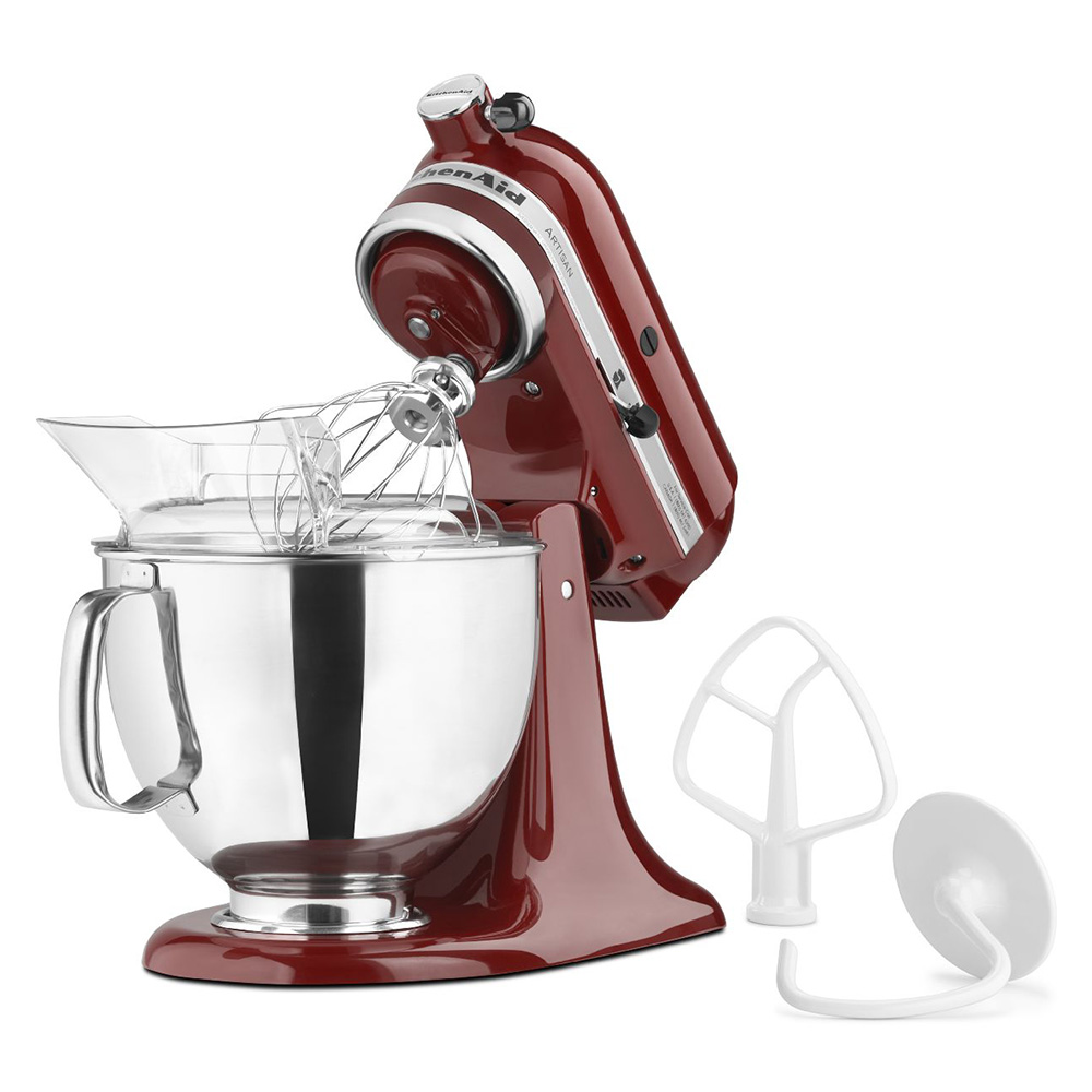 KitchenAid KSM150PSGC Artisan Series 5-Quart Mixer, 10 Speed, Gloss Cinnamon