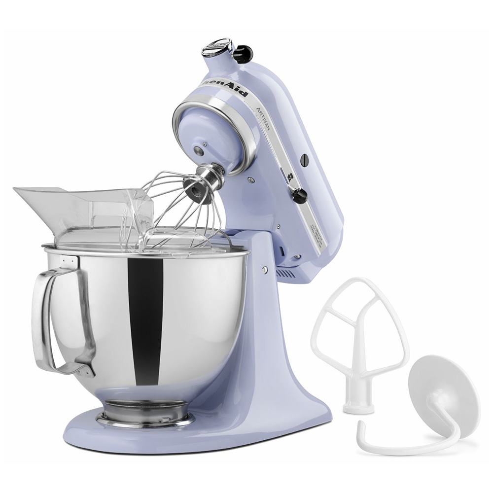 KitchenAid KSM150PSLR 5-qt Artisan Series Stand Mixer - 10-Speed, Lavender Cream