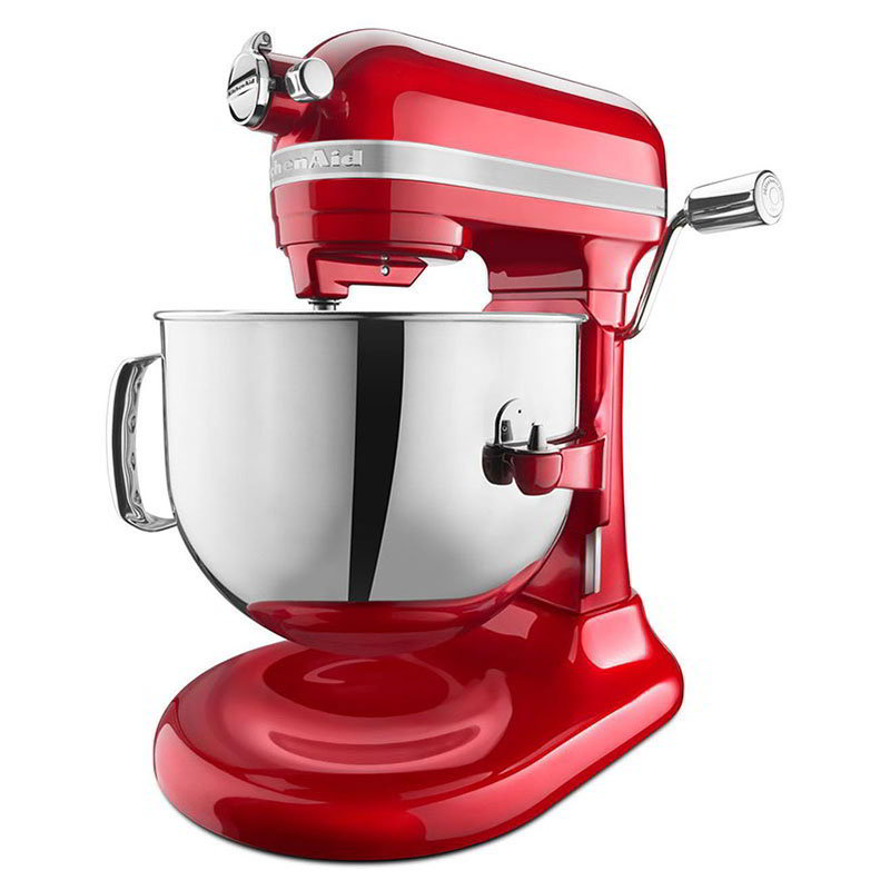 KitchenAid KSM7586PCA Pro Line 7-qt Bowl Lift Stand Mixer - 1.3-hp, Candy Apple Red