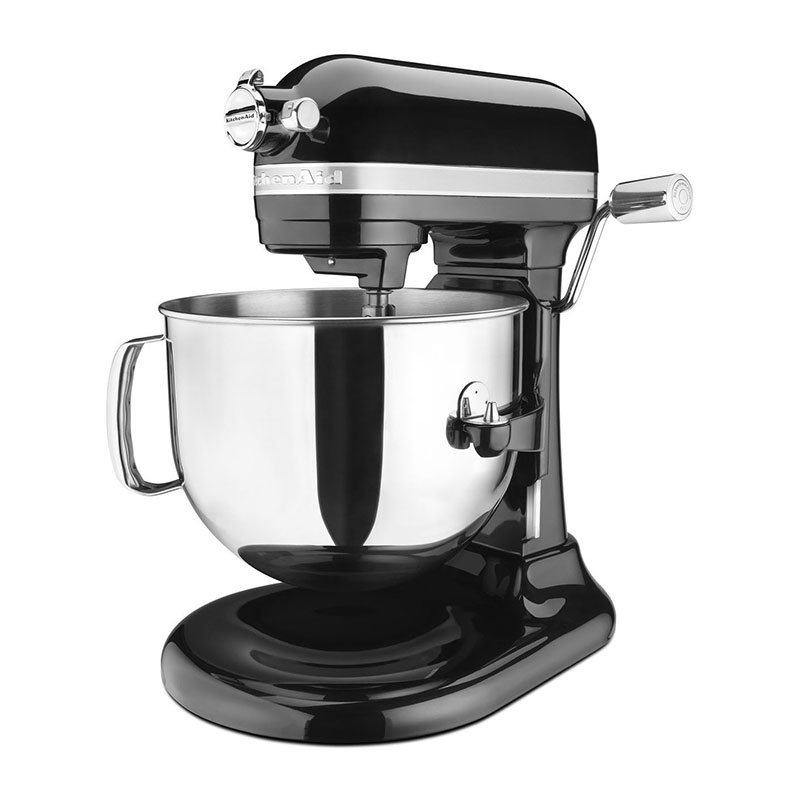 KitchenAid KSM7586POB Pro Line 7-qt Bowl Lift Stand Mixer - 1.3-hp, Onyx Black