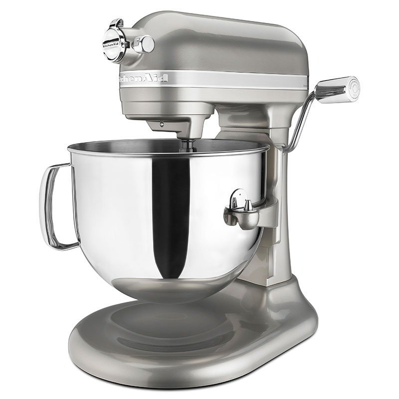 KitchenAid KSM7586PSR Pro Line 7-qt Bowl Lift Stand Mixer - 1.3-hp, Sugar Pearl Silver