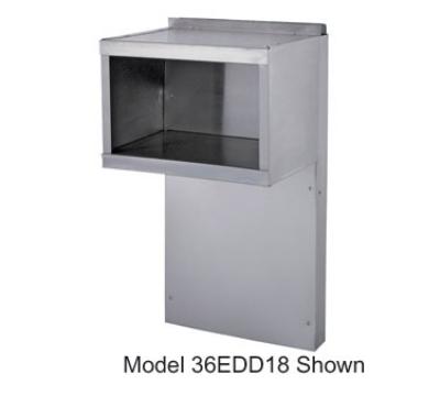 Garland 36EDD18 36E Series Backguard w/ Double High Shelves Restaurant Supply
