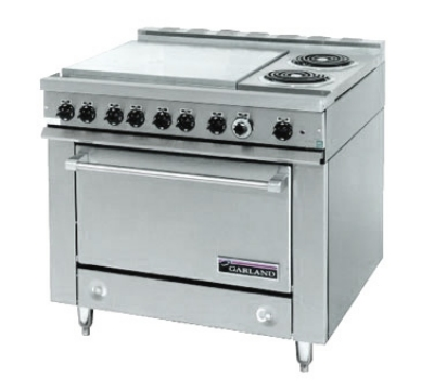 Garland / US Range 36ER33-99 2403 36E Series Heavy Duty Range Oven (4) Boil Sections 2 Elements 240/3 Restaurant Supply