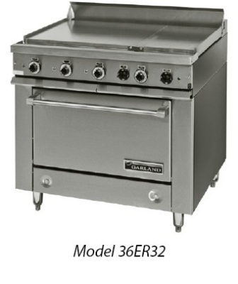 Garland / US Range 36ET32 2083 36E Series Heavy Duty Range (3) Sections w/ Thermostats Modular 208/3 Restaurant Supply