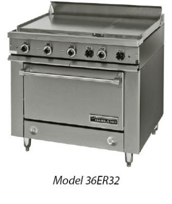 Garland / US Range 36ET32 2083 36E Series Heavy Duty Range (3) Sections w/ Thermostats Modular 208/3 Restaurant Supply