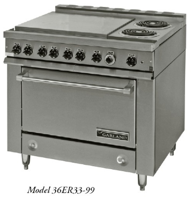 Garland 36ET33-99 36E Series Heavy Duty Range Modular Restaurant Supply