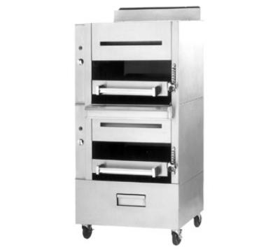 Garland C2100M LP Heavy Duty Banquet Broiler w/ 2-Infrared Decks, LP