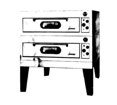 Garland E2011 2401 Double Deck Type Bake Oven w/ 3/4-in Core Plate Hearth, 240/1 V