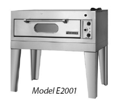 Garland E2155 2083 Triple Deck Bake / Roast Oven w/ 1-Hearth & 2-Steel Deck, 208/3 V