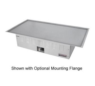 Garland / US Range E22-36-45GMX 2083 Teppan-Yaki Drop-In Griddle 45 in x 26-3/4 Grill 11 x 34 Heat Zone 208/3 V Restaurant Supply