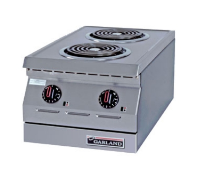 Garland ED-15H 2081 15-in Hot Plate w/ 2-Flat Elements, 208/1 V