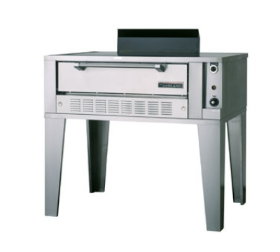 Garland G2071 NG Deck-Type Bake Oven, Single Deck, 42 x 32 x 7 in, Hear