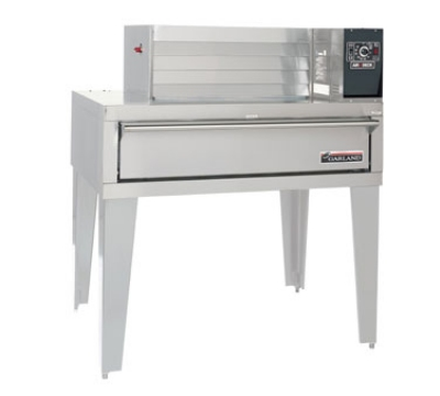 Garland G56PT NG Single Deck Impingement Pizza Oven w/ Top Mounted Power, NG