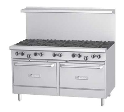 "Garland G60-10RR 60"" 10-Burner Gas Range, LP"