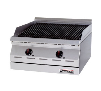Garland GD-24RBFF NG 24-in Countertop Charbroiler w/ High Lo Valve Control & Piezo Spark Ignition, NG
