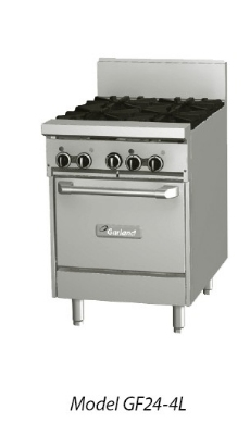 Garland GF24-2G12L NG 24-in Range w/ Flame Failure, 2-Burner