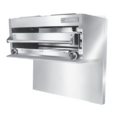 Garland GIR60NG Salamander Broiler For 60-in Restaurant Range, NG