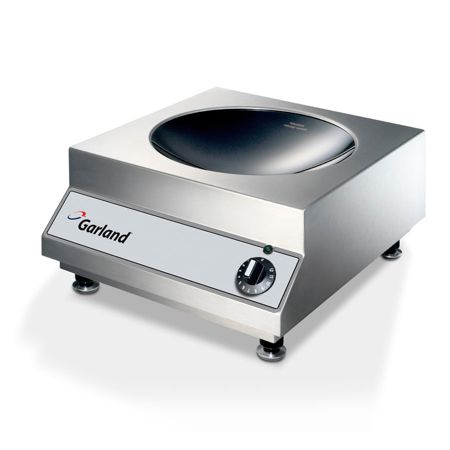 Garland GI-SH/WO 3500 2401 Countertop Induction Wok w/ Rotary Switch & Ceramic Well, 240/1 V
