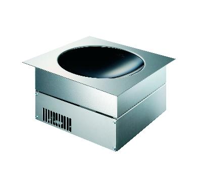 Garland GI-SH/WO/IN 3500 2081 Built In Induction Wok w/ Air Intake Kit & Ceramic Bowl, 208/1 V
