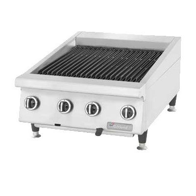 Garland GTBG48-AR48NG 48 in Countertop Charbroiler, Adjustable, Manual Control, NG