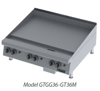 Garland GTGG36-G36M LP 36-in Countertop Griddle w/ Manual Hi Lo Controls, LP