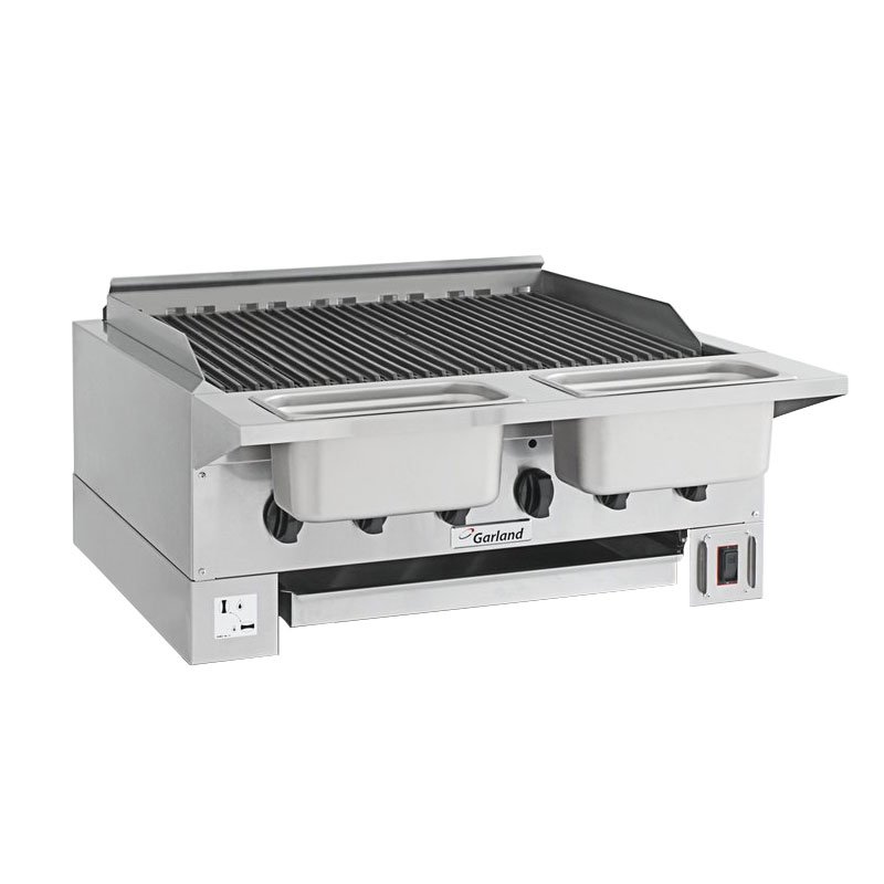 Garland HEEGM24CL LP High Efficiency Broiler w/ Removable Cast Iron Grates, 20.13x23.5-in Grill, LP